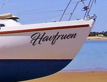 Klistermærker til båden