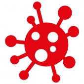 Corona-virus stickers - (Midlertidigt kategori)