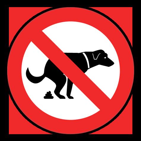 Hundelort Nej Tak Sticker Blandede Stickers