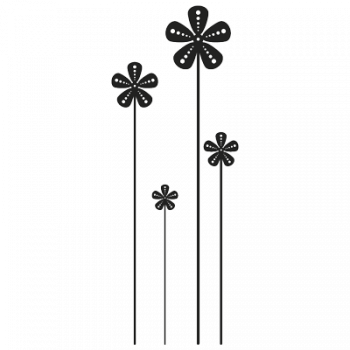 Flowers 007 Wallsticker