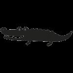 Krokodille 001 Wallsticker