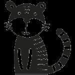 Tiger 001 Wallsticker