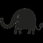 Elefant 001 Wallsticker