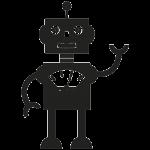 Robot 002 Wallsticker