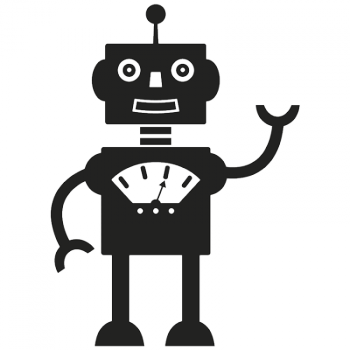 Robot 002 Wallsticker
