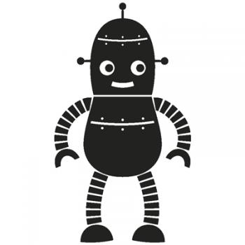 Robot 003 Wallsticker
