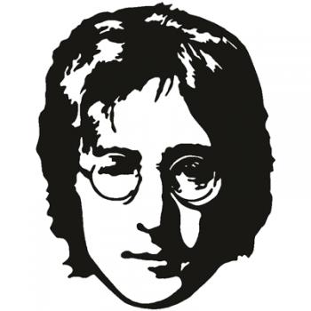 Face 003 Wallsticker