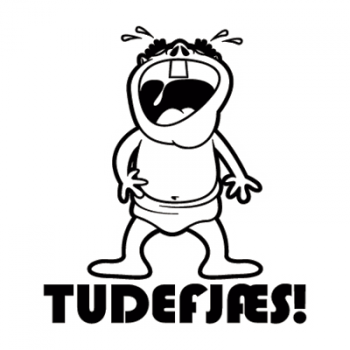 Tudefjæs 001 Sticker