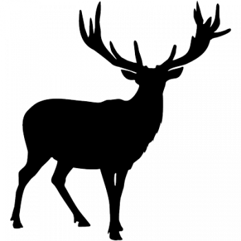 Deer 001 Wallsticker