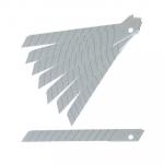 Olfa knivblade 9 mm 45° - 10 stk.