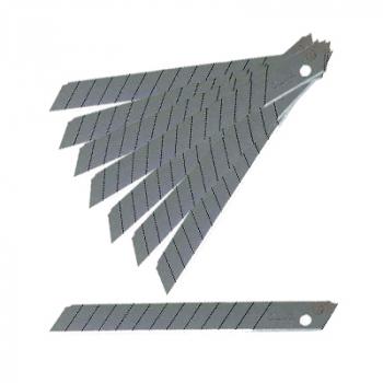 Olfa knivblade 9 mm 45° Rustfri - 10 stk.