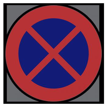 Parkering Forbudt Sticker