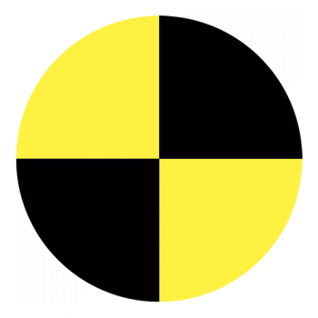 Crash Test Prik 001 - Sticker