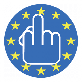 Fuck EU Sticker