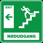 Nødudgang Trappe Venstre 001