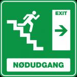 Nødudgang Trappe Højre 001