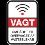 Vagt Overvågning 001 - Sticker