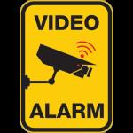 Video-Alarm 001 - Sticker