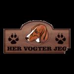 Her Vogter Jeg - Sticker - Anglo Français De Petite Vénerie