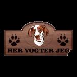 Her Vogter Jeg - Sticker - Ariege Pointer