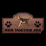 Her Vogter Jeg - Sticker - Armant