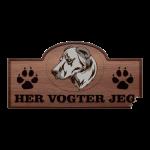 Her Vogter Jeg - Sticker - Armensk Gampr