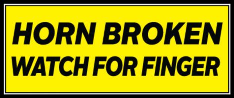 Horn Broken