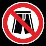 Badetøj-forbudt-cirkel