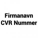 Firmanavn-CVR-Nummer