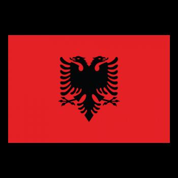 Flag-Albanien-001-sticker