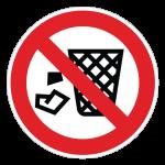 Henkastning-af-affald-forbudt-cirkel