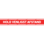 Hold venligst afstand roed
