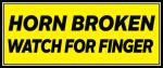 Horn-Broken