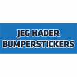 Jeg-hader-Bumperstickers