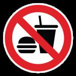 Mad-og-drikke-forbudt-cirkel