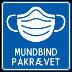 Mundbind-Påkrævet