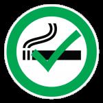Rygning-Tilladt-cirkel
