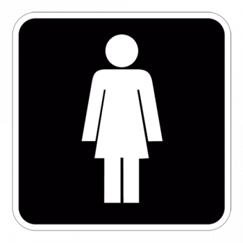 Symbol2-Dametoilet-sticker