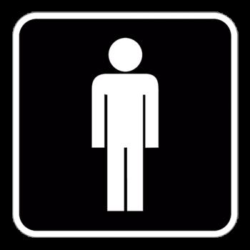 Symbol2-Herretoilet-Sticker