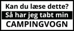 Tabt-Campingvogn