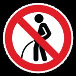 Vandladning-forbudt-cirkel