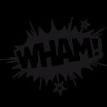 Wham-001-Wallsticker