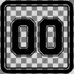 nummerkvadrat-m-checkerboard